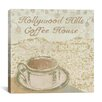 "<strong>""Hollywood Coffee House"" Canvas Wall Art by Erin Clark</strong> by iCanvasArt"