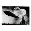 <strong>iCanvasArt</strong> 'Hindenburg Disaster' by Murray Becker Photographic Print on Canvas