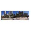 iCanvas Panoramic Honolulu Skyline Cityscape (Beach) Photographic Print on Canvas