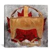 iCanvas Canada Hockey Mask #7 Graphic Art on Canvas