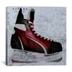iCanvas Canada Hockey Ice Skates #3 Graphic Art on Canvas