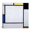 "iCanvasArt ""Composition ll, 1922"" Canvas Wall Art by Piet Mondrian"