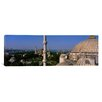 iCanvasArt Panoramic Mosque of Sultan Ahmet I, Istanbul, Turkey Photographic Print on Canvas
