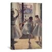 iCanvas Drei Tanzerinnen by Edgar Degas Painting Print on Canvas