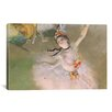 iCanvas 'Dancer on the Stage' by Edgar Degas Painting Print on Canvas