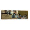 iCanvas 'Dancers Rail' by Edgar Degas Painting Print on Canvas