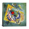 <strong>iCanvasArt</strong> 'Red Oval' by Wassily Kandinsky Painting Print on Canvas
