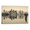 iCanvasArt Panoramic 'Boston, Massachusetts' Photographic Print on Canvas
