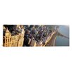 <strong>iCanvasArt</strong> Panoramic Highway along a Lake, Lake Shore Drive, Chicago, Illinois Photographic Print on Canvas