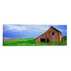 iCanvas Panoramic 'Dilapidated Barn in A Farm, Palouse, Whitman County, Washington State' Photographic Print on Canvas