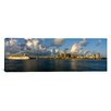 iCanvas Panoramic Cruise Ship Docked at a Harbor, Miami, Florida Photographic Print on Canvas