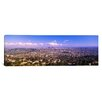 iCanvas Panoramic Cityscape Los Angeles, California Photographic Print on Canvas