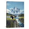 iCanvas 'Eagle Mountain' by John Van Straalen Painting Print on Canvas