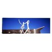 "iCanvas Panoramic ""Dancers Sculpture in Front of the Colorado Convention Center, Denver, Colorado"" by Jonathan Borofsky Photographic Print on Canvas"