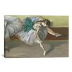 iCanvas 'Danseuse Au Repos 1879' by Edgar Degas Painting Print on Canvas