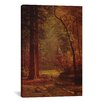 iCanvas 'Dogwood' by Albert Bierstadt Painting Print on Canvas