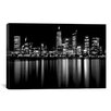 iCanvasArt Downtown City Photographic Print on Canvas