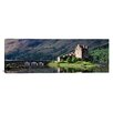 iCanvasArt Panoramic Eilean Donan Castle, Highlands Region, Scotland Photographic Print on Canvas