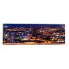 iCanvas Panoramic 'City Lit up at Night, Tucson, Pima County, Arizona' Photographic Print on Canvas