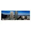 iCanvas Panoramic San Gabriel Mountains, Hollywood Hills and Century City, California Photographic Print on Canvas