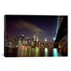 iCanvas Downtown New York Photographic Print on Canvas