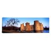iCanvas Panoramic Moat Around a Castle, Bodiam Castle, East Sussex, England Photographic Print on Canvas