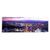 <strong>iCanvasArt</strong> Panoramic Dusk Las Vegas, Nevada Photographic Print on Canvas