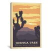 iCanvas 'Joshua Tree National Park, California' by Anderson Design Group Vintage Advertisement on Canvas