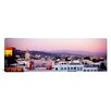 iCanvas Panoramic San Gabriel Mountains, Hollywood, California Photographic Print on Canvas