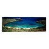 iCanvasArt Panoramic 'Hanauma Bay, Oahu, Hawaii' Photographic Print on Canvas