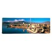 <strong>iCanvasArt</strong> Panoramic Lake Titicaca, Floating IslanD,  Peru Photographic Print on Canvas