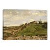 iCanvas 'De Heuvel van Montmartre Met Steengroeve (the Hill of Montmartre with Quarry)' by Vincent van Gogh Painting Print on Canvas