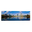 <strong>iCanvasArt</strong> Panoramic 'Lake Eola, Orlando, Florida' Photographic Print on Canvas