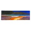 iCanvas Panoramic Grand Prismatic Spring, Yellowstone National Park, Wyoming Photographic Print on Canvas