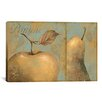 <strong>iCanvasArt</strong> Decorative Art 'Delicious (Apple and Pear)' by Daphne Brissonnet Painting Print on Canvas