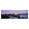 iCanvas Panoramic Washington Monument, Capitol Building, Washington D.C. Photographic Print on Canvas