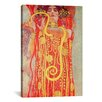 iCanvas 'Klimt Medicine' by Gustav Klimt Painting Print on Canvas