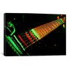 iCanvasArt Funky Guitar Photographic Print on Canvas
