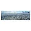 iCanvasArt Panoramic Lake Michigan, Chicago, Illinois Photographic Print on Canvas