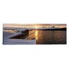 iCanvasArt Panoramic Sea Plane Lake Spenard Anchorage, Alaska Photographic Print on Canvas