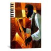 iCanvasArt Fusion by Keith Mallett Painting Print on Canvas