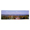 iCanvas Panoramic High Angle View of Barns in a Field, Peacham, Vermont Photographic Print on Canvas