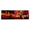 iCanvas Panoramic Fremont Street Experience Las Vegas Nevada Photographic Print on Canvas