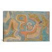 <strong>'Flying Away 1934' by Paul Klee Painting Print on Canvas</strong> by iCanvasArt