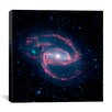 iCanvas Coiled Creature of the Night NGC 1097 (Spitzer Space Observatory) Canvas Wall Art