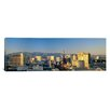 <strong>iCanvasArt</strong> Panoramic High Angle View of Buildings in a City Las Vegas, Nevada Photographic Print on Canvas