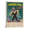 iCanvasArt Forbidden Planet Vintage Movie Poster Canvas Print Wall Art