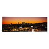 <strong>iCanvasArt</strong> Panoramic Los Angeles, California Photographic Print on Canvas
