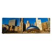 iCanvas Panoramic Cloud Gate in Millennium Park Chicago, Illinois Photographic Print on Canvas