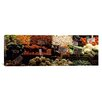 iCanvasArt Panoramic Pike Place Market Seattle, Washington Photographic Print on Canvas